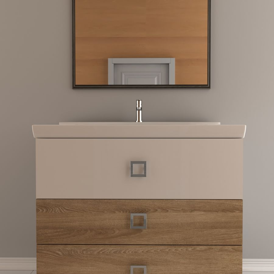 console table royalty-free 3d model - Preview no. 2