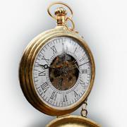 Reloj de bolsillo modelo 3d