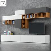 Tv Stand DallAgnese Slim 3d model