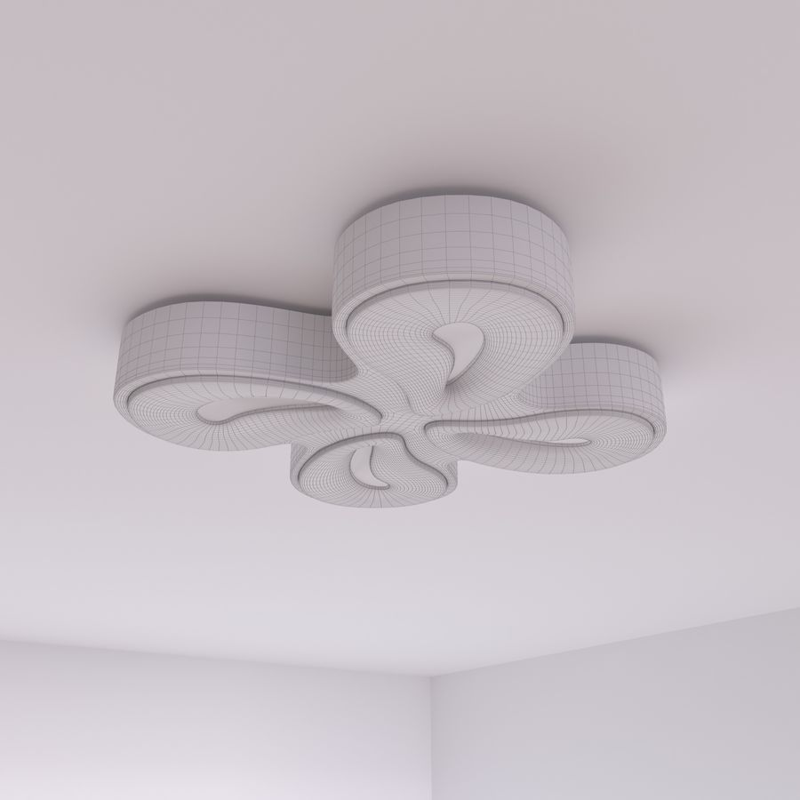 downlight royalty-free 3d model - Preview no. 4