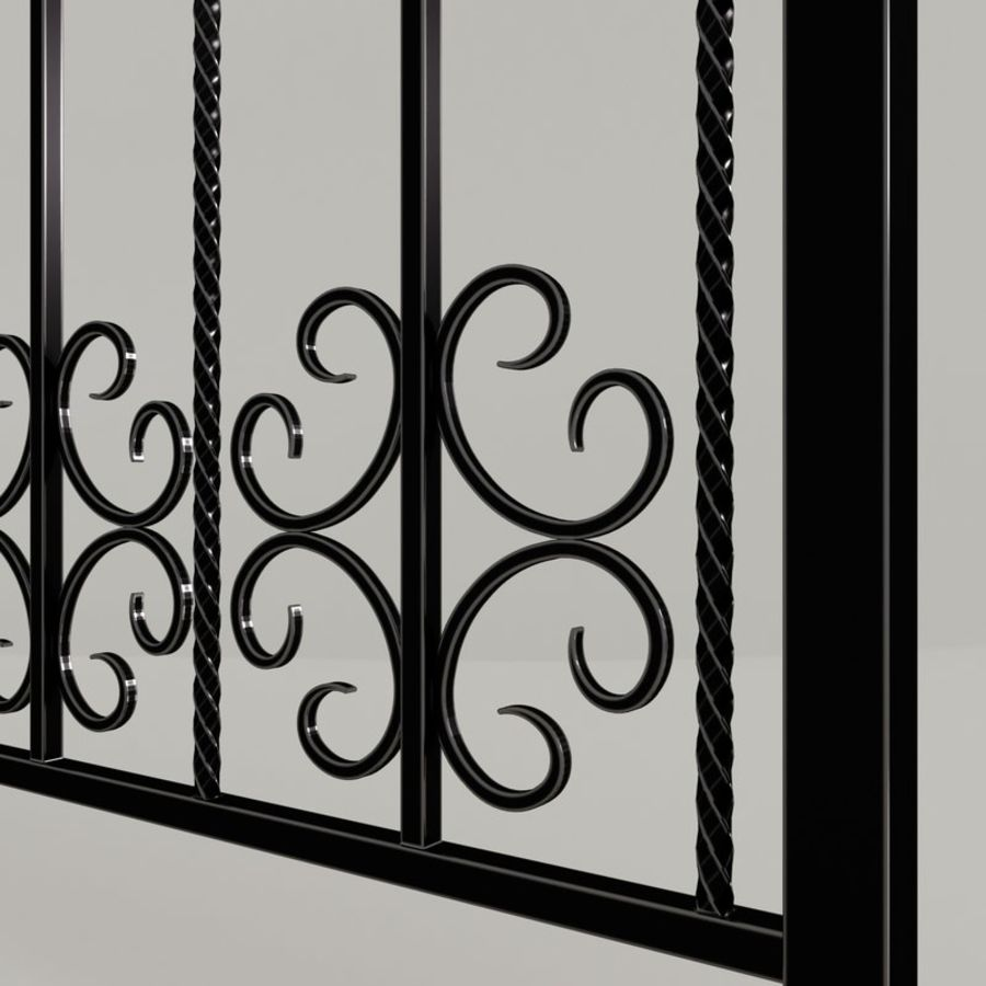 fence royalty-free 3d model - Preview no. 2