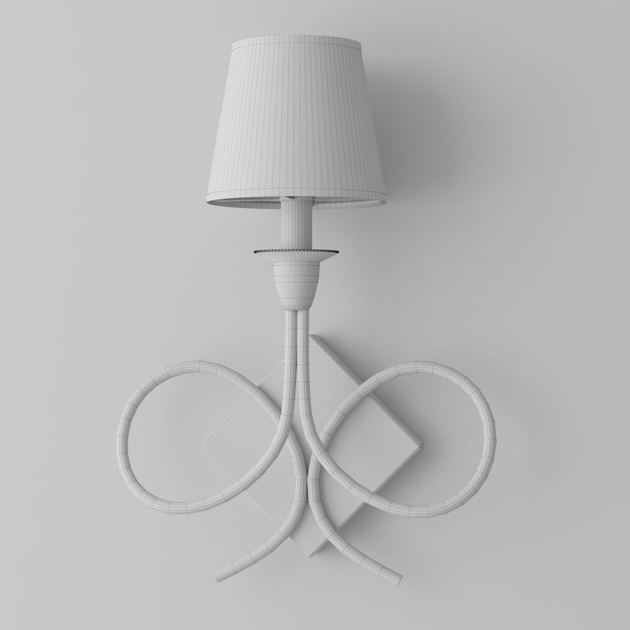 wall lighting royalty-free 3d model - Preview no. 5