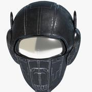 Science Fiction Helmet 3d model