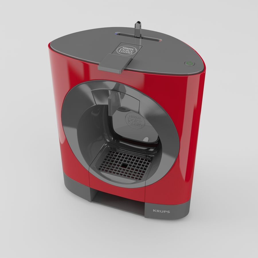 Nescafe Dolce Gusto Oblo royalty-free 3d model - Preview no. 4