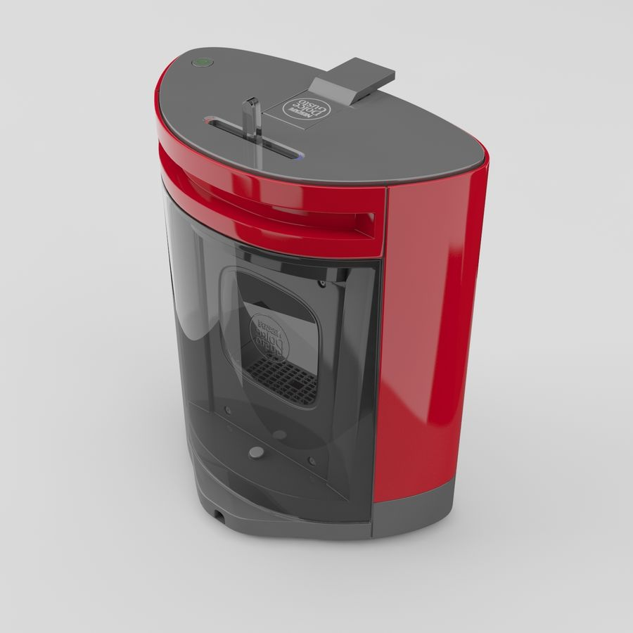 Nescafe Dolce Gusto Oblo royalty-free 3d model - Preview no. 5