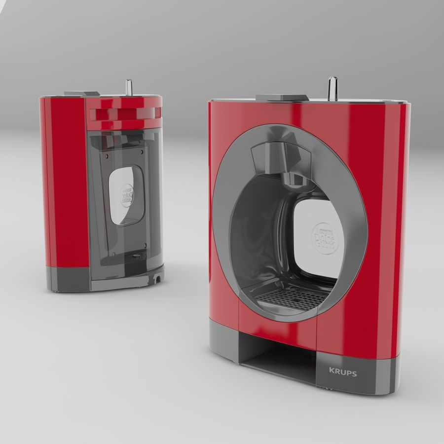 Nescafe Dolce Gusto Oblo royalty-free 3d model - Preview no. 2