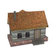 Casa de la fantasía modelo 3d