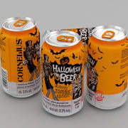 Beer Can Cornelius Halloween Beer 330ml 3d model