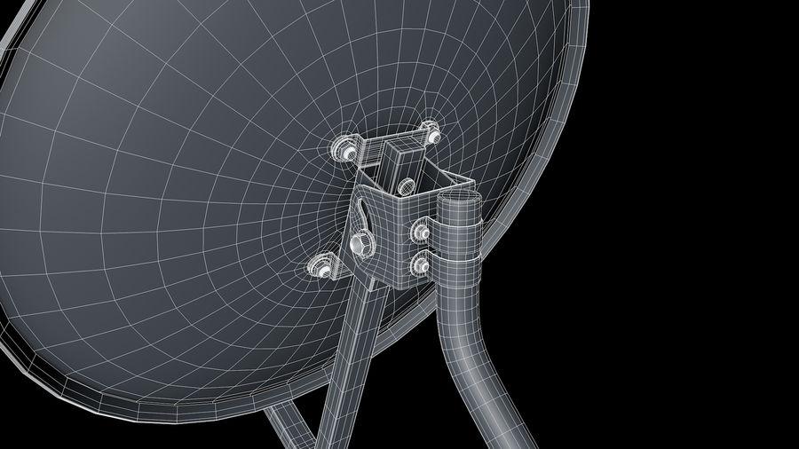 Спутниковая тарелка royalty-free 3d model - Preview no. 9