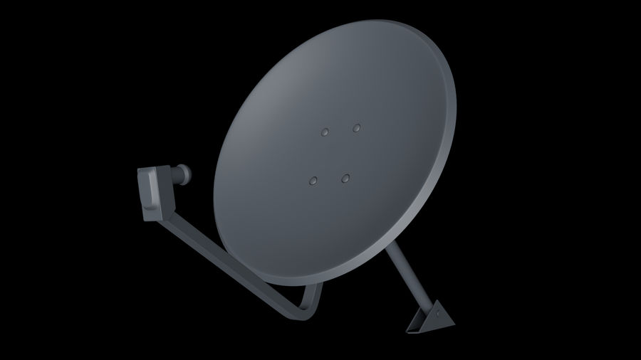 Спутниковая тарелка royalty-free 3d model - Preview no. 14