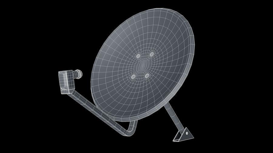 Спутниковая тарелка royalty-free 3d model - Preview no. 15
