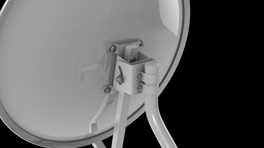 Спутниковая тарелка royalty-free 3d model - Preview no. 7