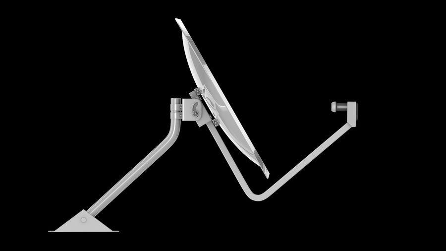 Спутниковая тарелка royalty-free 3d model - Preview no. 5