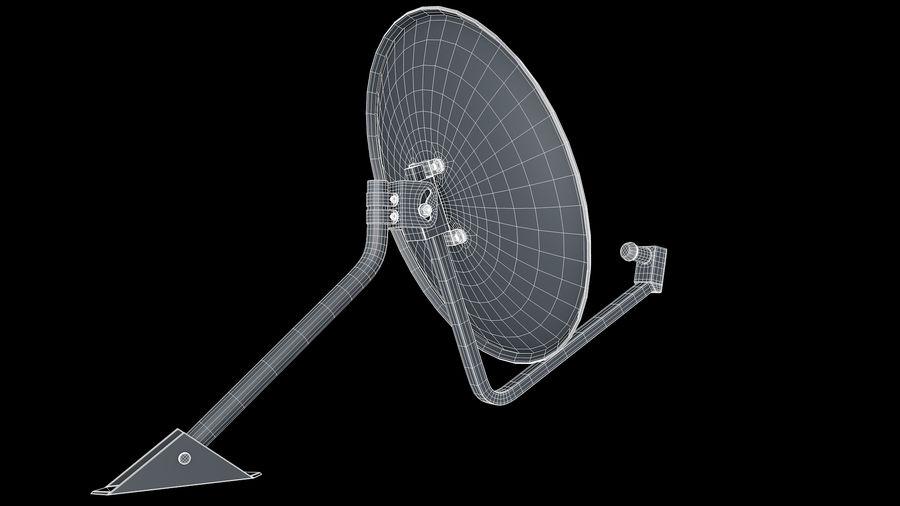 Спутниковая тарелка royalty-free 3d model - Preview no. 4
