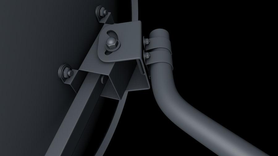 Спутниковая тарелка royalty-free 3d model - Preview no. 11