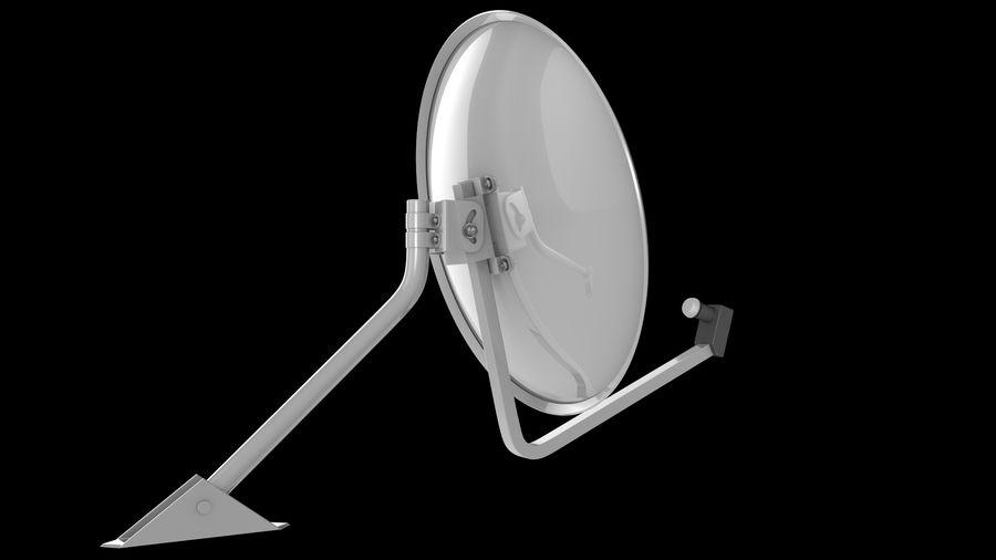 Спутниковая тарелка royalty-free 3d model - Preview no. 3