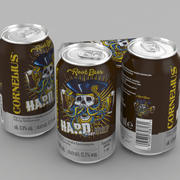 Beer Can Cornelius Root Beer 330ml 3d model
