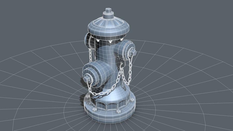 Hidrante royalty-free 3d model - Preview no. 15