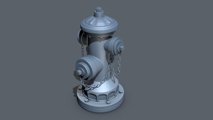 Hidrante royalty-free 3d model - Preview no. 14