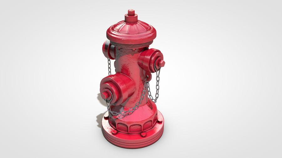 Hidrante royalty-free 3d model - Preview no. 9