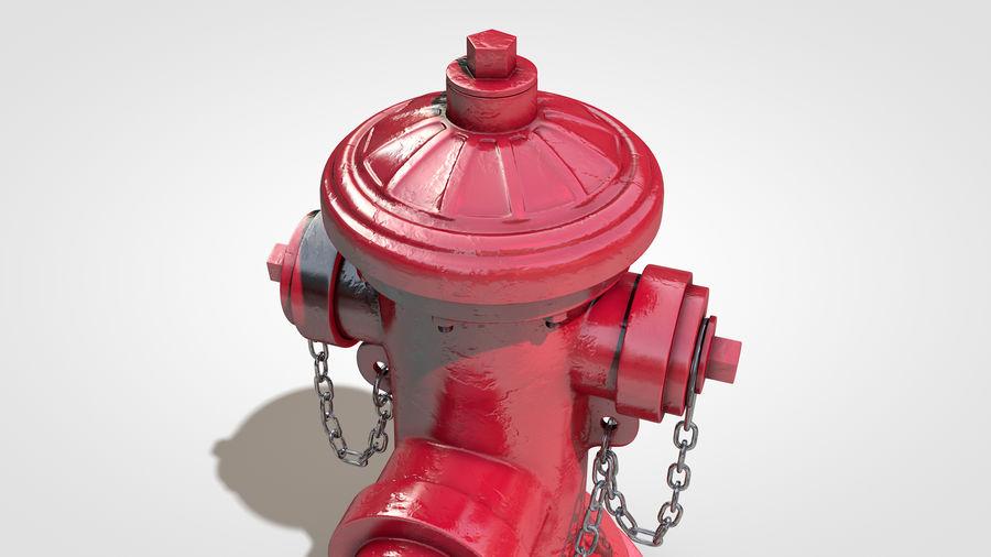 Hidrante royalty-free 3d model - Preview no. 4