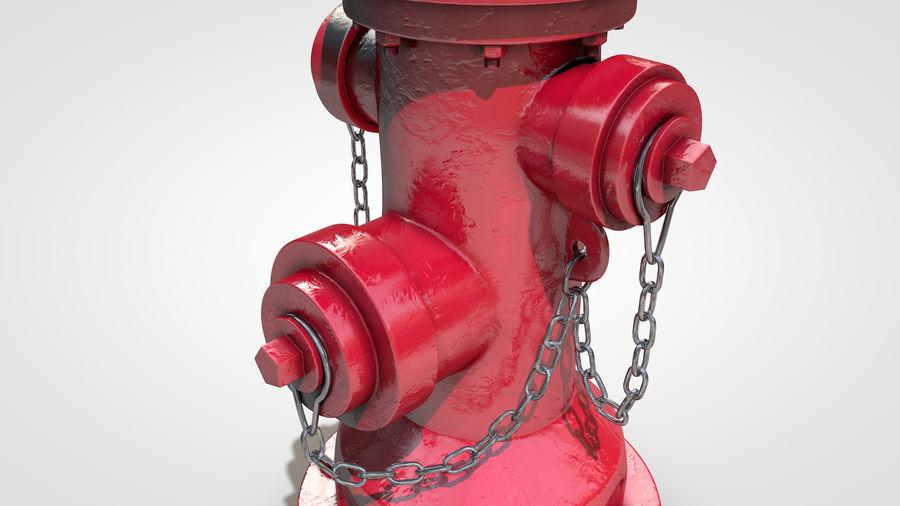 Hidrante royalty-free 3d model - Preview no. 10