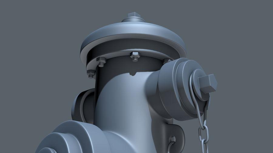 Hidrante royalty-free 3d model - Preview no. 6