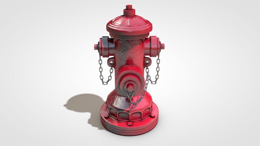 Hidrante royalty-free 3d model - Preview no. 2