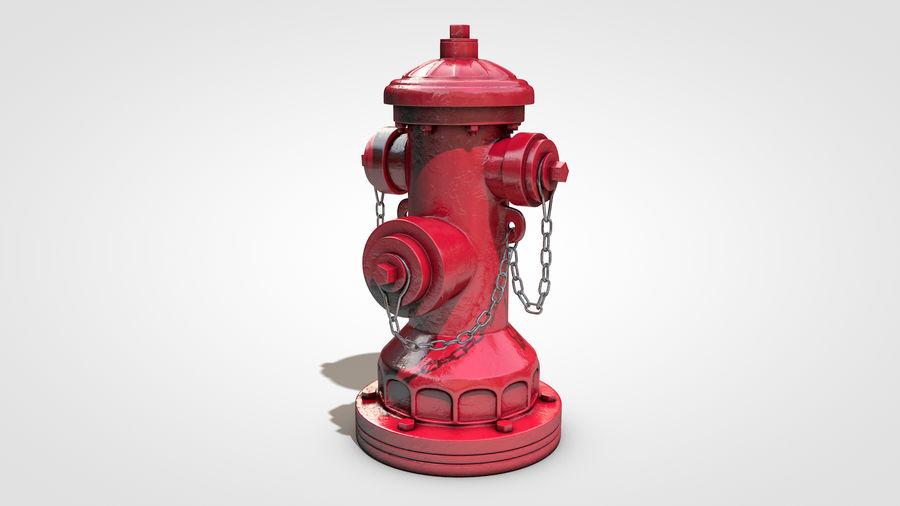 Hidrante royalty-free 3d model - Preview no. 3