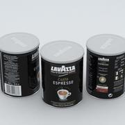 커피 캔 라바짜 블랙 250g 3d model