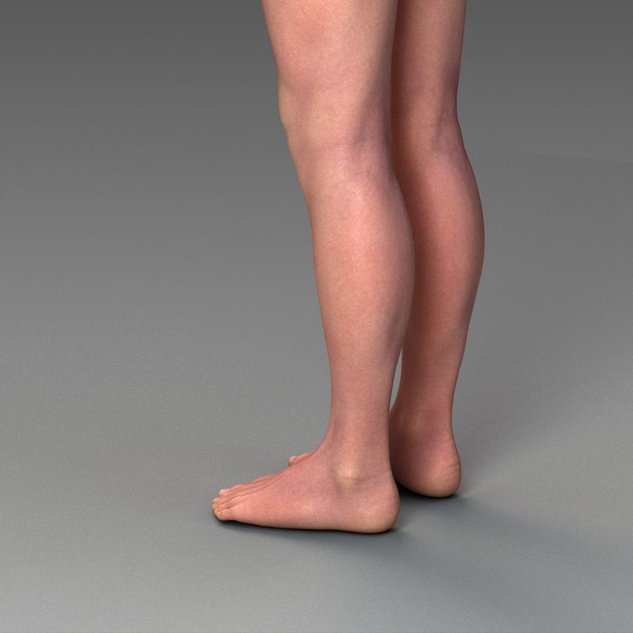 女性の身体 royalty-free 3d model - Preview no. 12