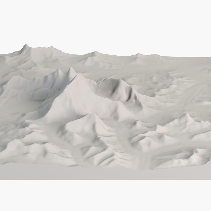 エベレストトポロジーのマウント royalty-free 3d model - Preview no. 3