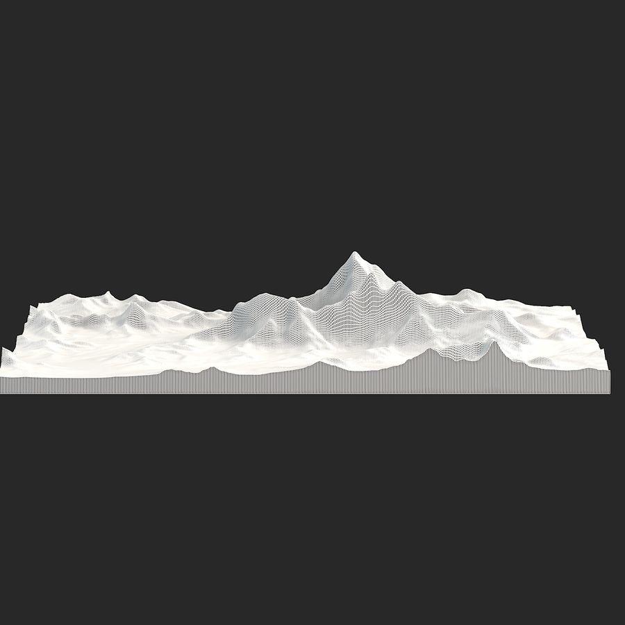 エベレストトポロジーのマウント royalty-free 3d model - Preview no. 12
