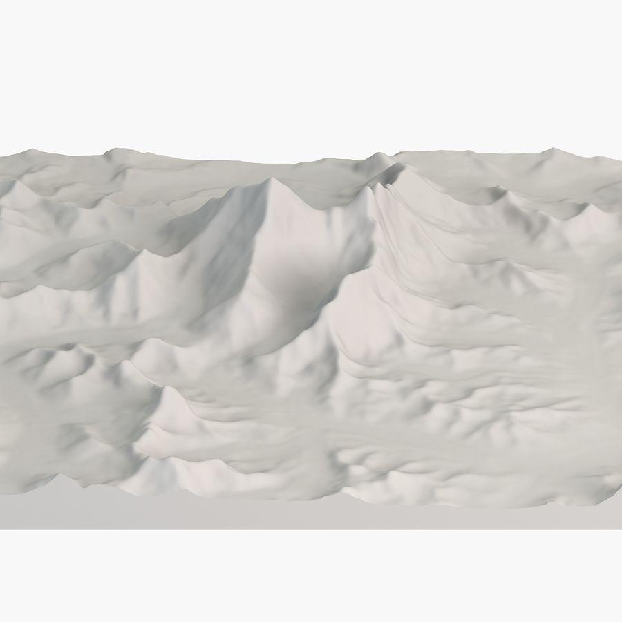 エベレストトポロジーのマウント royalty-free 3d model - Preview no. 1