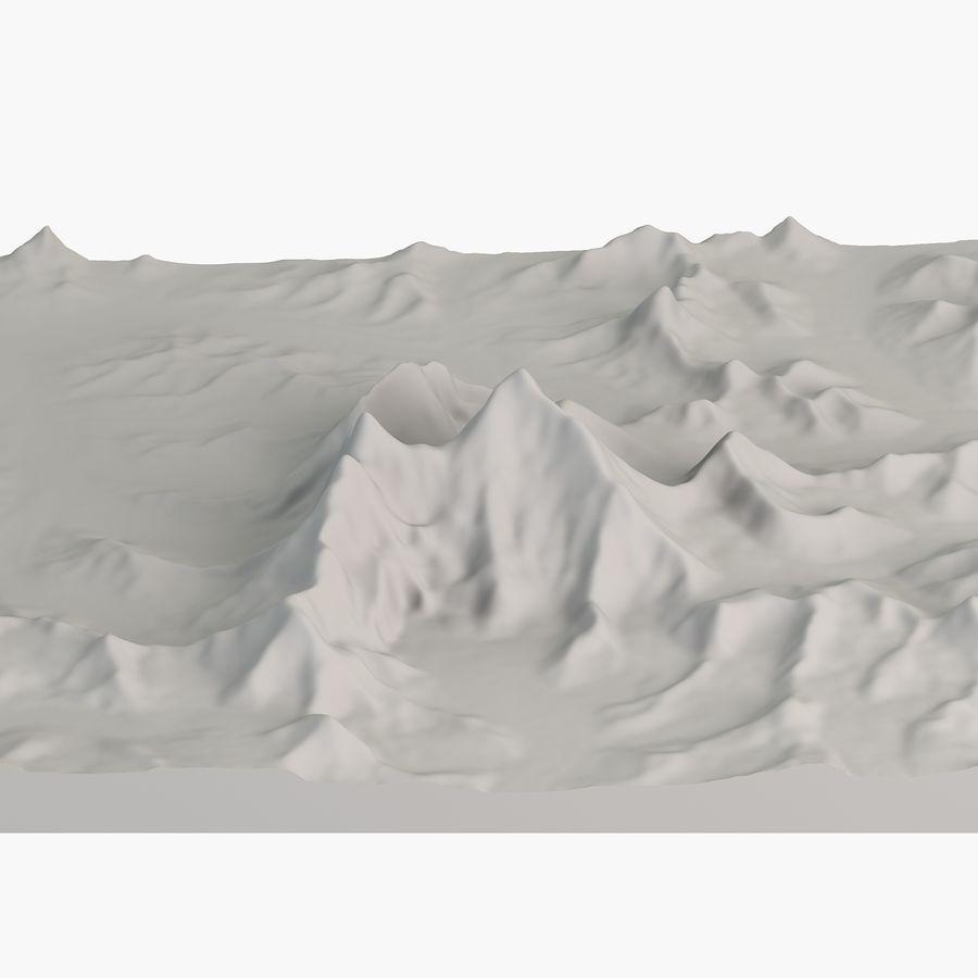 エベレストトポロジーのマウント royalty-free 3d model - Preview no. 5