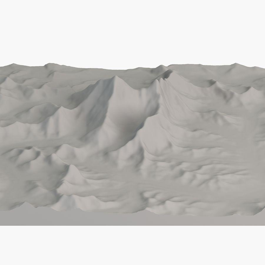 エベレストトポロジーのマウント royalty-free 3d model - Preview no. 9