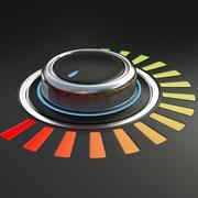 Ses Düğmesi 3d model