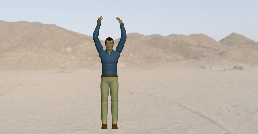 Homem manequim 6 royalty-free 3d model - Preview no. 4