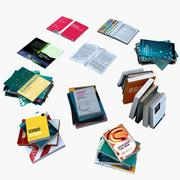 Books & Magazines 3d model