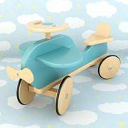 Plan en bois 3d model