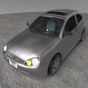 Coche modelo 3d