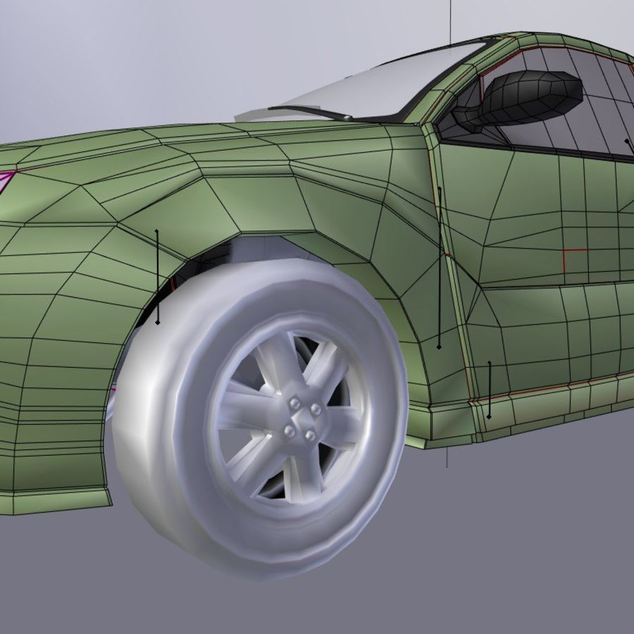 Car royalty-free 3d model - Preview no. 11