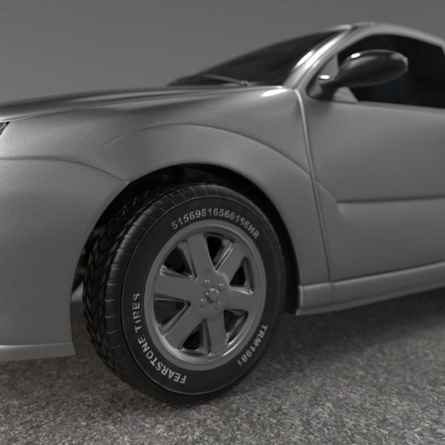 Car royalty-free 3d model - Preview no. 8