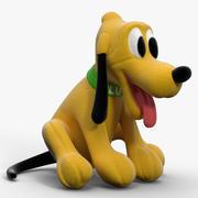 Soft Toy Dog 3d model