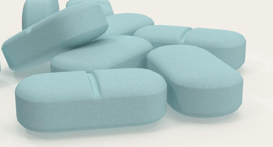 Long Pills royalty-free 3d model - Preview no. 9