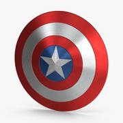 Капитан Америка Щит 3d model