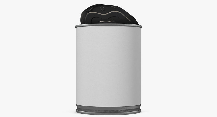 Tin Can Open 1 royalty-free 3d model - Preview no. 14