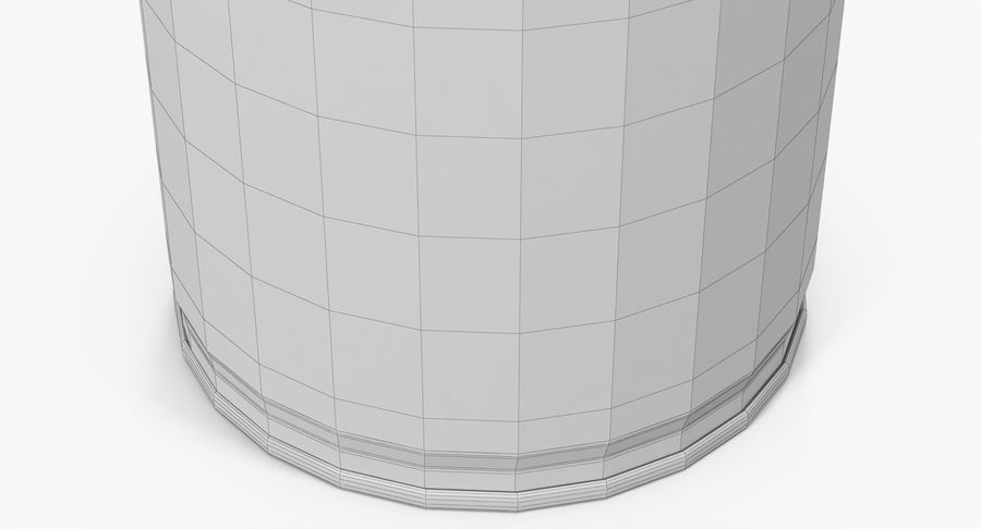 Tin Can Open 2 royalty-free 3d model - Preview no. 24