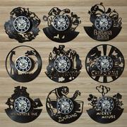 vinil kayıt saati 3d model