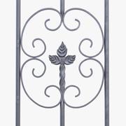 Fence Pattern Elements 3d model